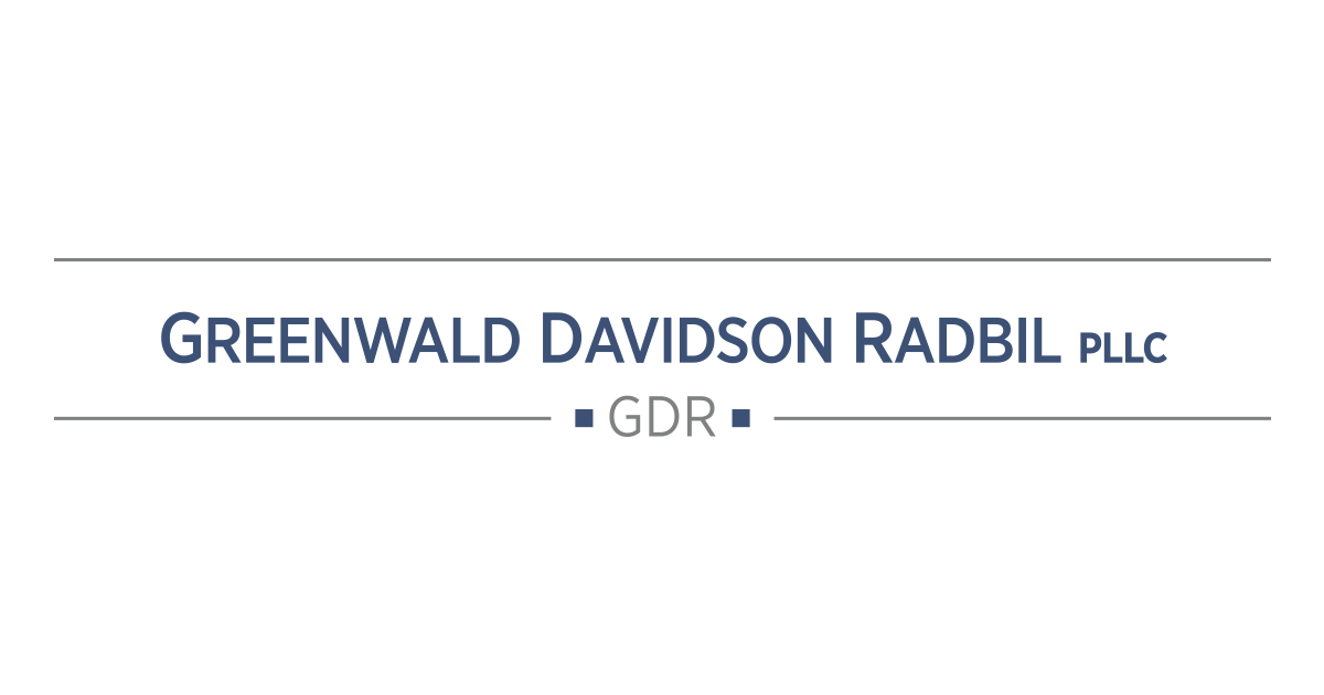 Greenwald Davidson Radbil PLLC | Claims period opens for